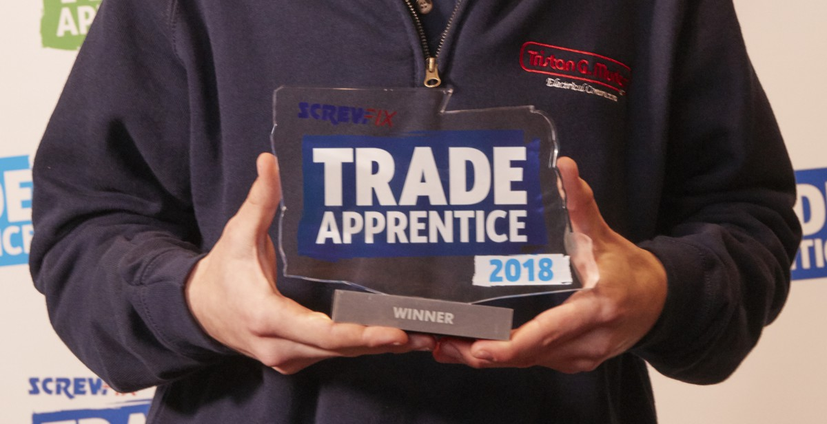 The Screwfix Trade Apprentice Competition 2019 is now open for entries!