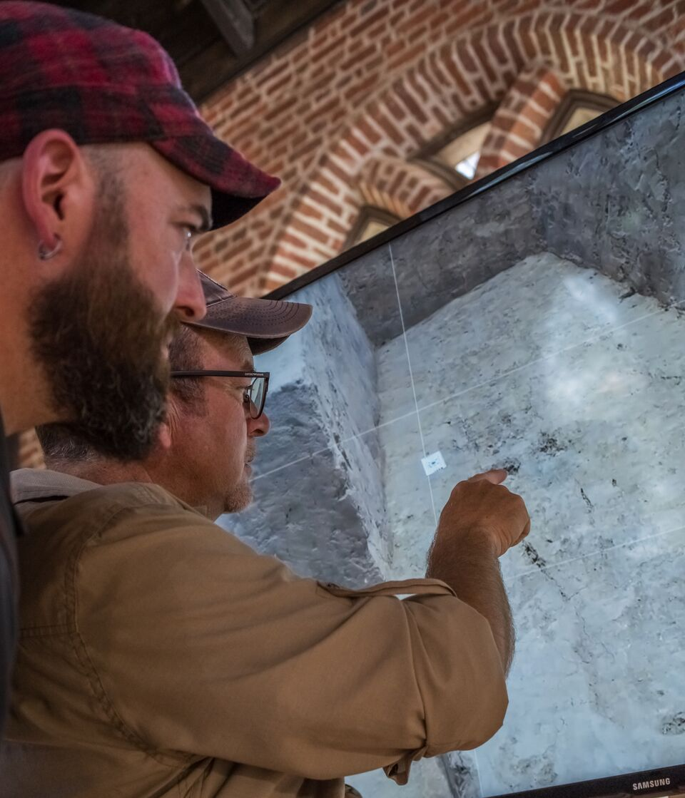 GSSI collaborates with archaeologists and the Jamestown Rediscovery Foundation