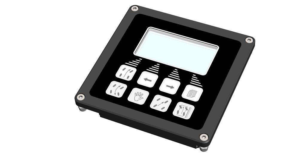 MOBIL ELEKTRONIK Control panel for EHLA auxiliary steering systems