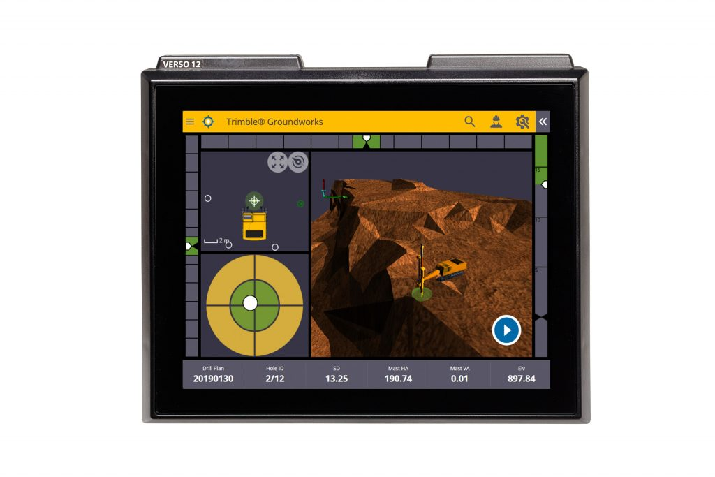 Trimble introduce groundworks machine control system for drilling and piling