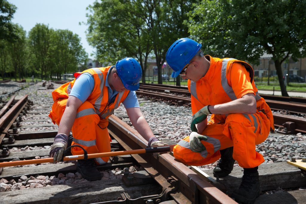 Network Rail apprentices