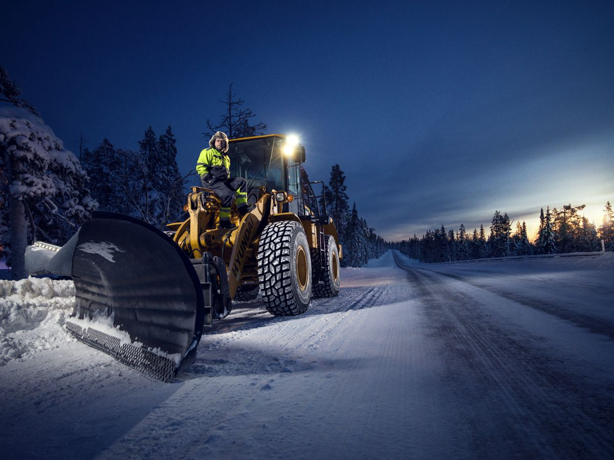 Nokian Hakkapeliitta winter traction Loader tyres for road graders