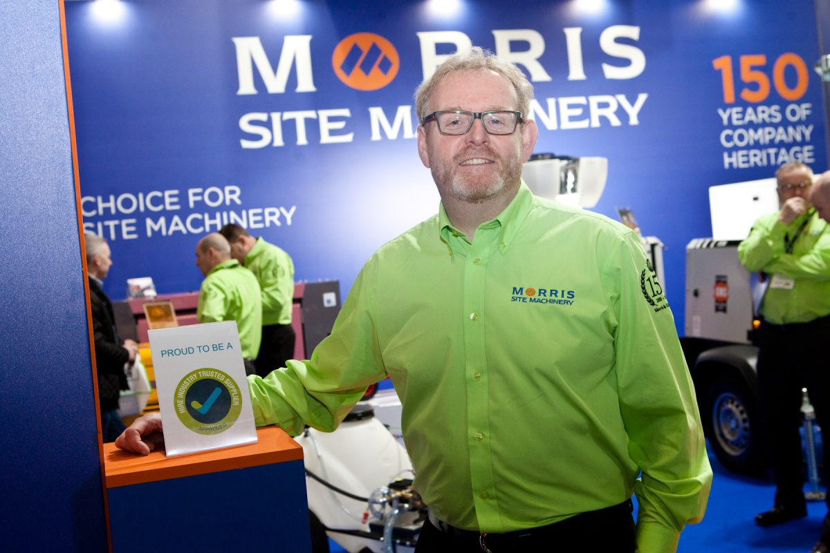 Morris Site Machinery awarded trusted supplier status