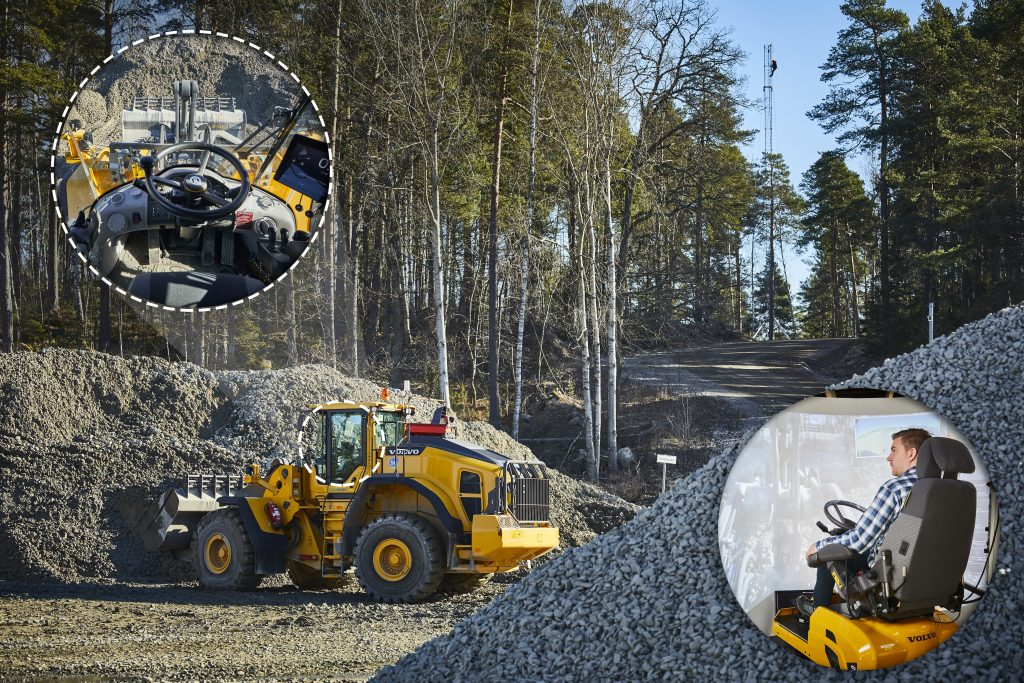 VolvoCE to test RC Wheel Loaders when Sweden gets first industrial 5G network