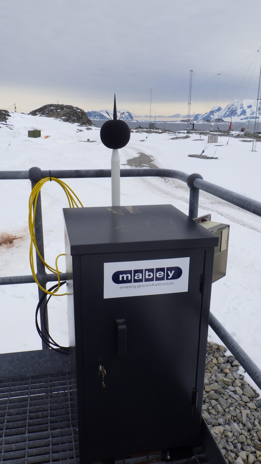 British Antarctic Research Station modernised with help from Mabey Hire Monitoring Solutions