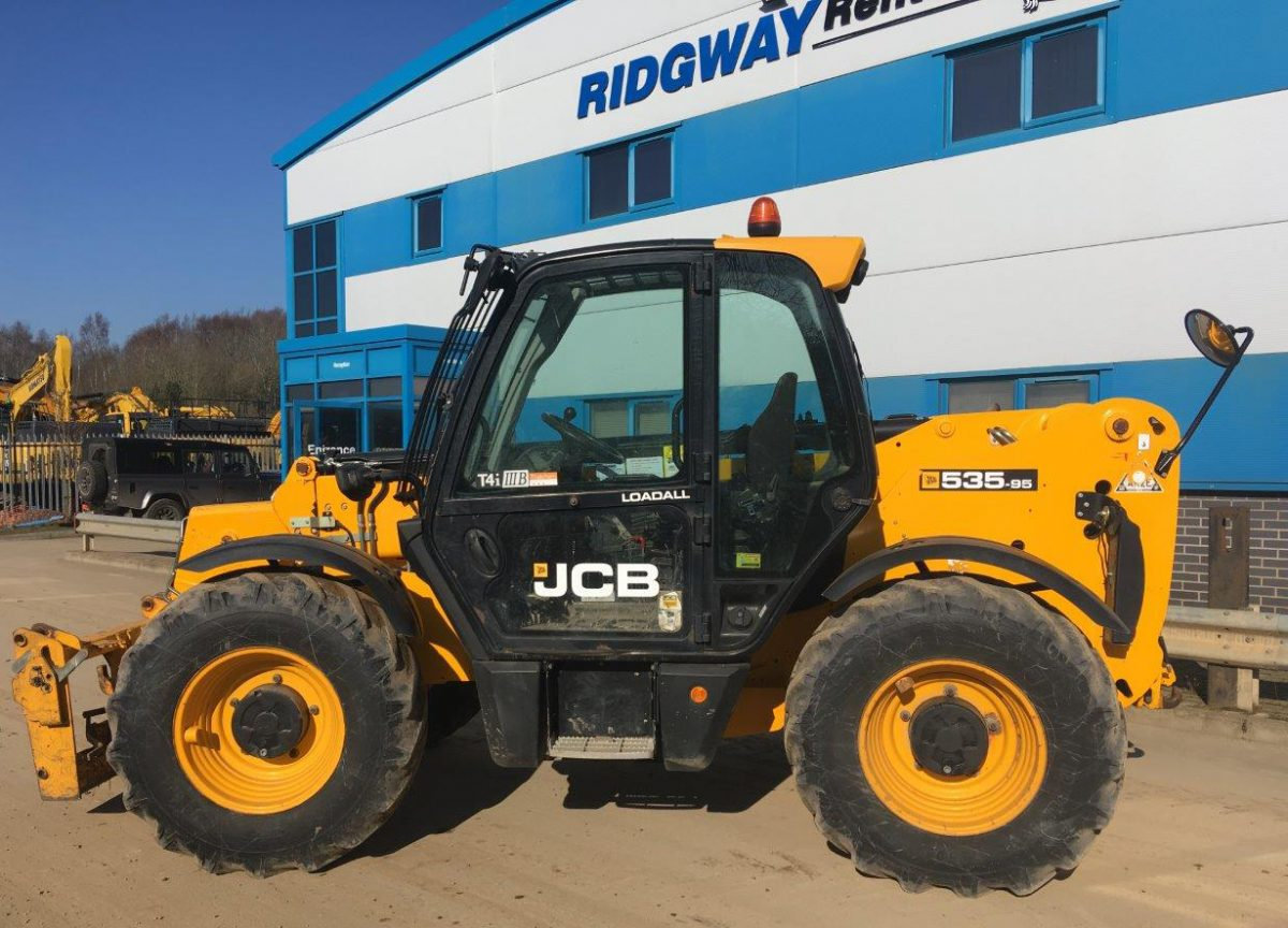 Ridgway Rentals increases Telehandler stock to over 200 machines for Hire and Sales