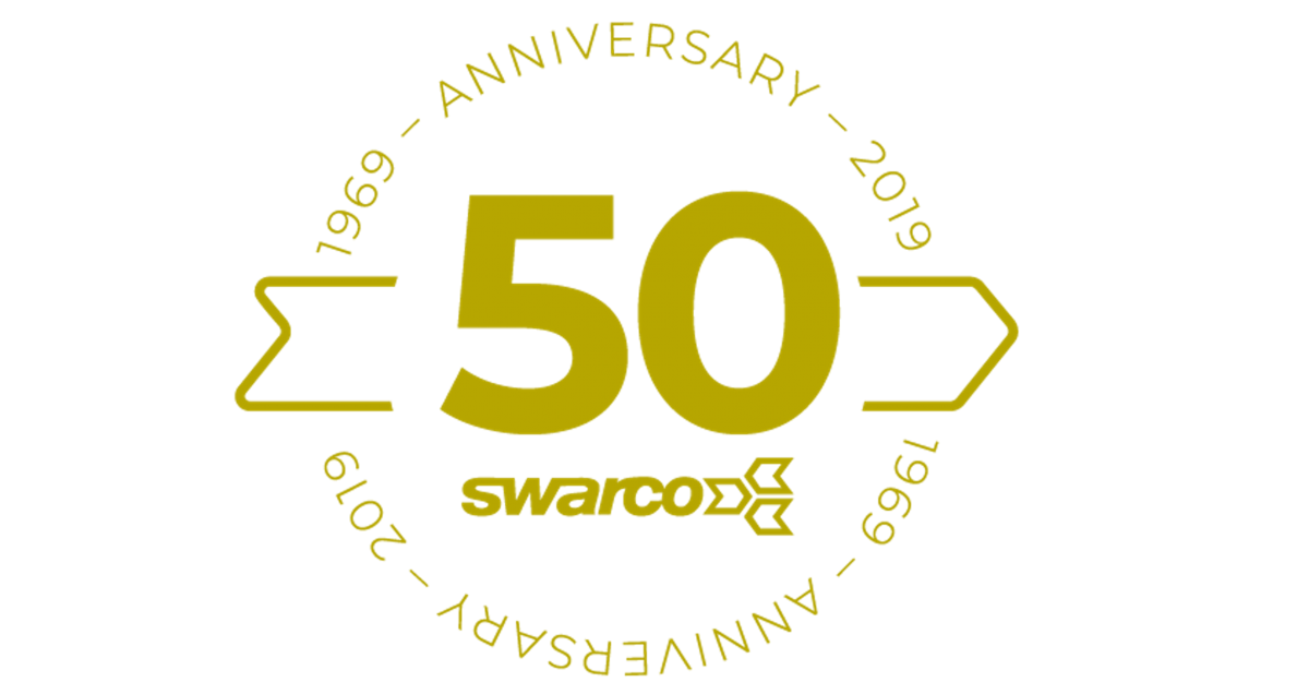 SWARCO celebrates 50th birthday with new product launches at TRAFFEX