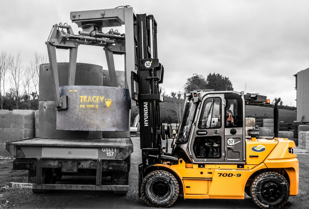 J D Forktrucks cement Hyundai deal with Tracey Concrete in Northern Ireland