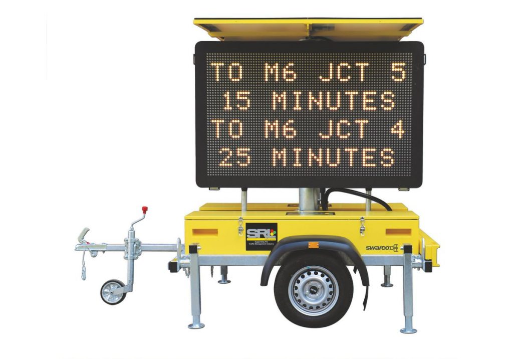 SWARCO and SRL Traffic Systems have agreed a significant new collaboration in the Variable Message Sign (VMS) industry.
