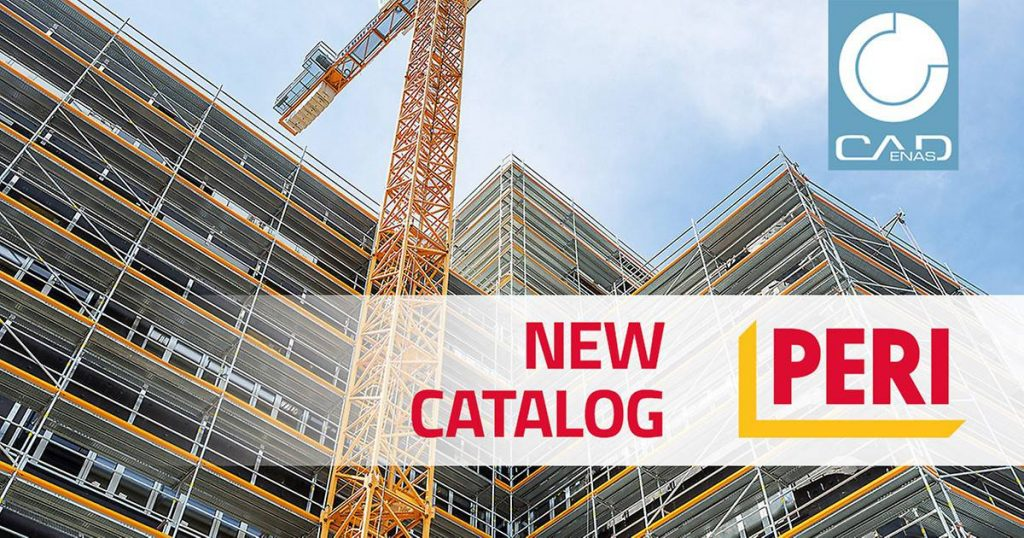 PERI to promote CADENAS for BIM CAD scaffolding component library at bauma