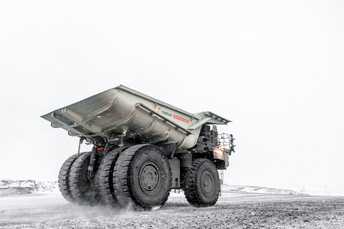 Metso delivering Hybrid Truck Bodies for the Boliden Aitik mine in Sweden
