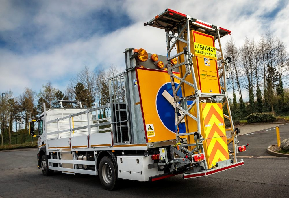 10 bespoke impact protection vehicles driving success for A Cones