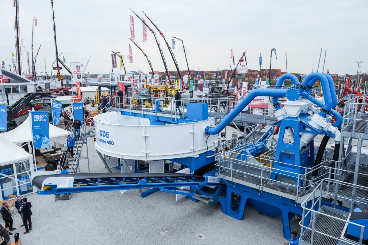 World first as all-in-one wet processing system unveiled at bauma