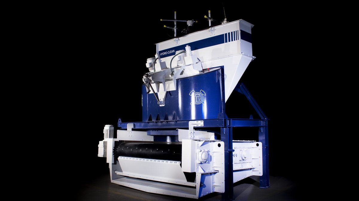 Haver Niagara has introduced new approaches to washing and pelletizing using the award-winning Hydro-Clean Washing System (pictured) and the one-of-a-kind Scarabaeus Pelletizing disc.