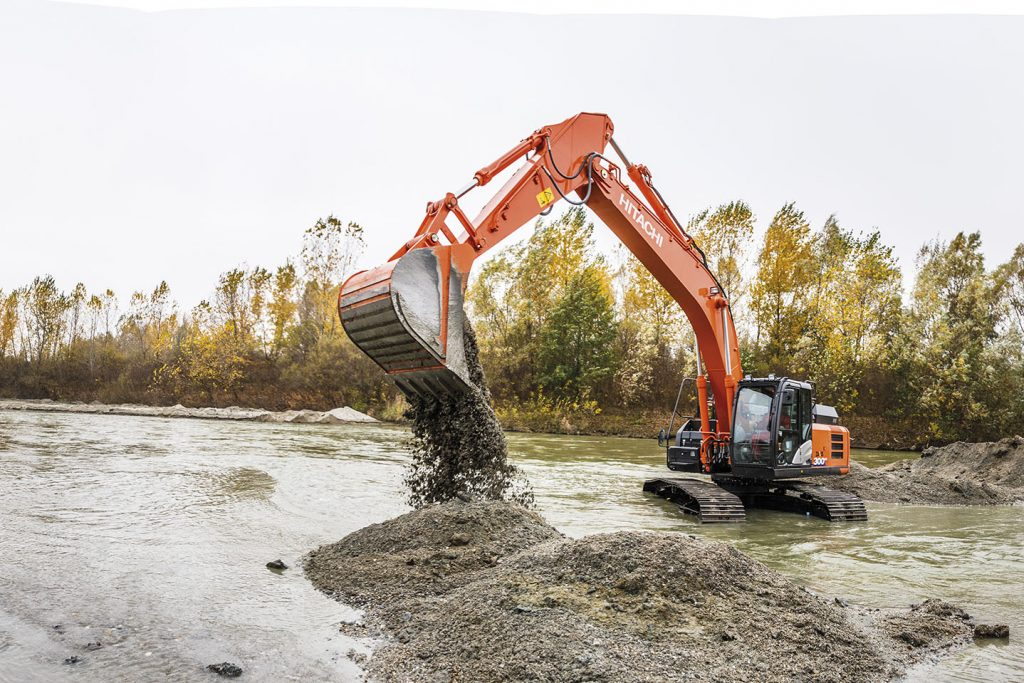 Romanian NBG demands maximum durability from Hitachi excavators