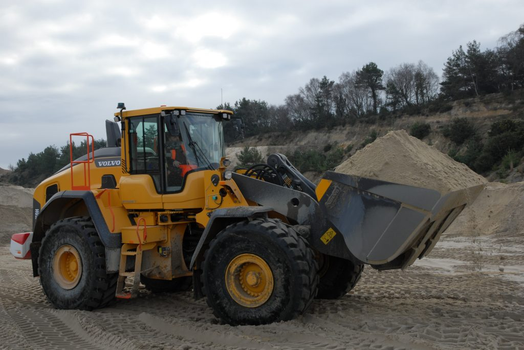 Holmes Sand and Ballast bag two new Volvo L150Hs Loading Shovels
