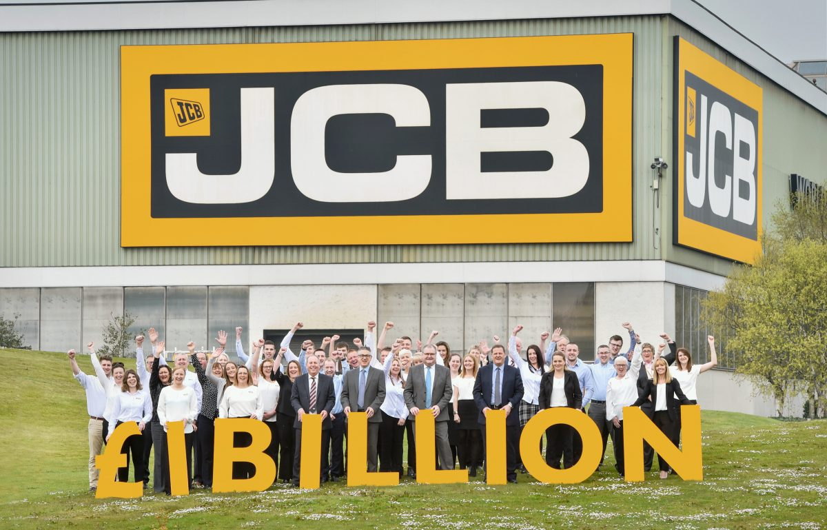 JCB Finance has one billion reasons to celebrate