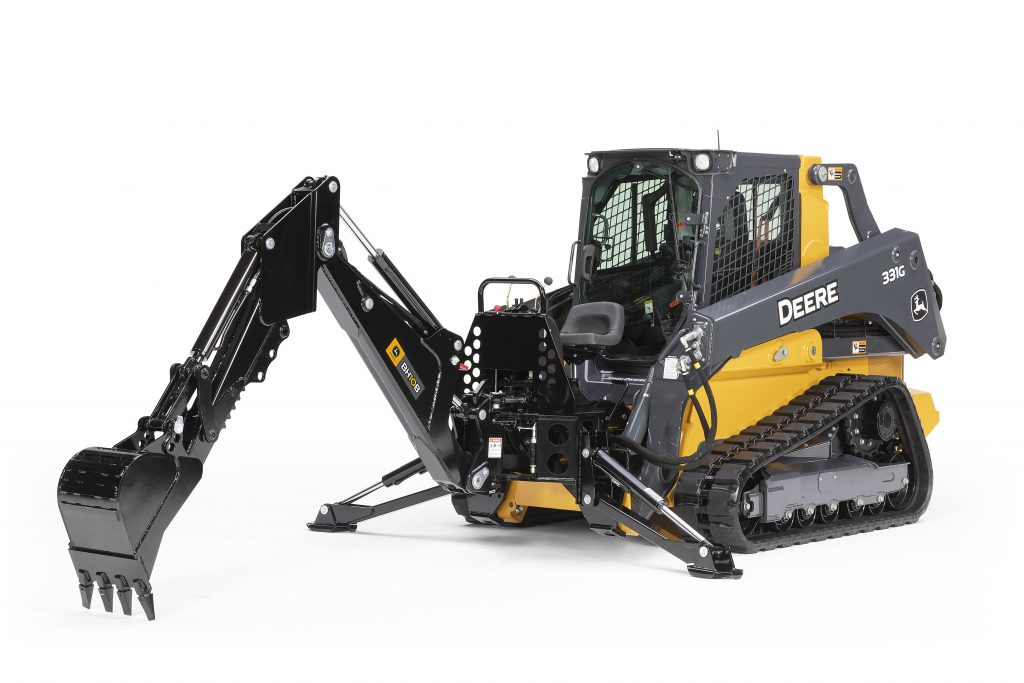 John Deere adds Backhoe attachments
