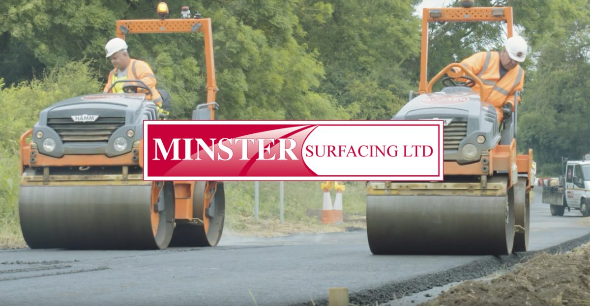 Minster Surfacing shortlisted for five UK National Recycling Awards