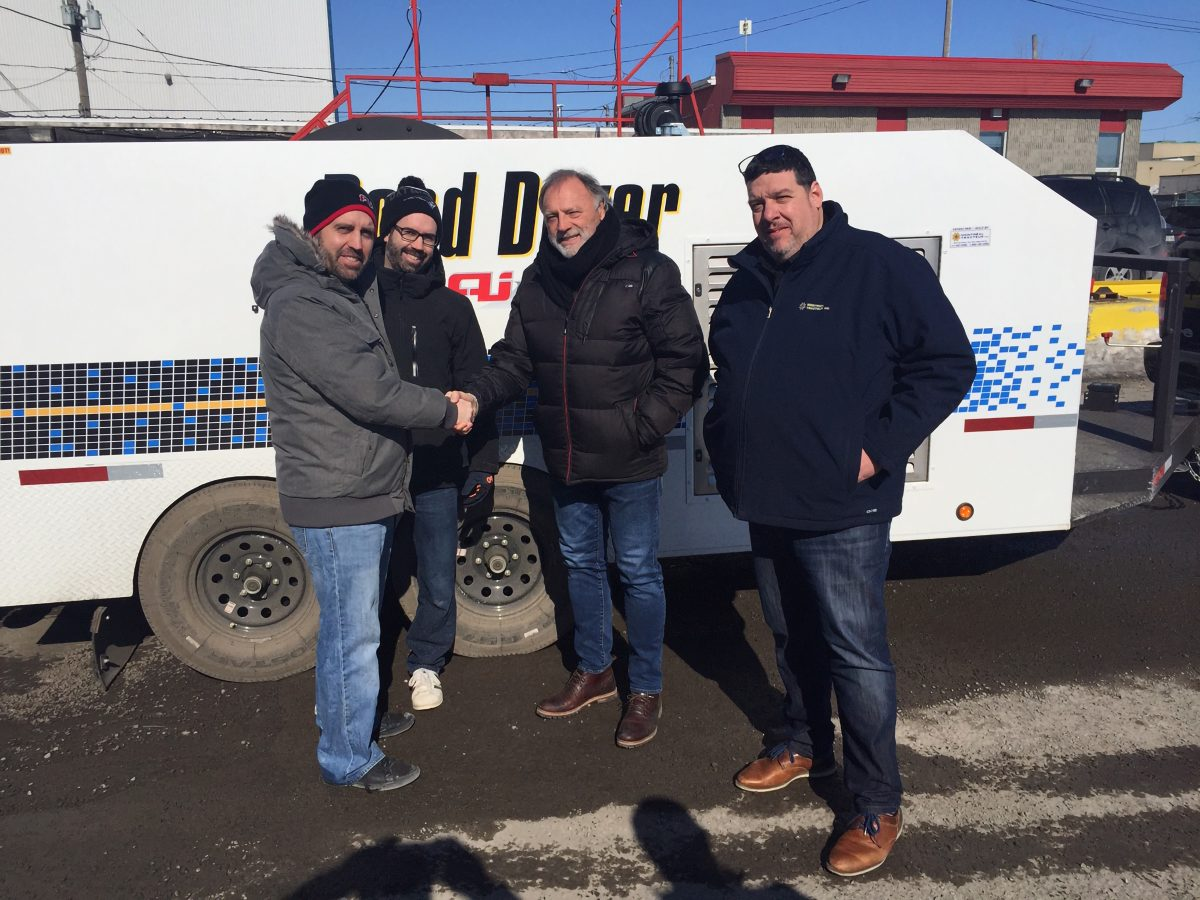 Road Dryer introduces new Eastern Canadian dealers