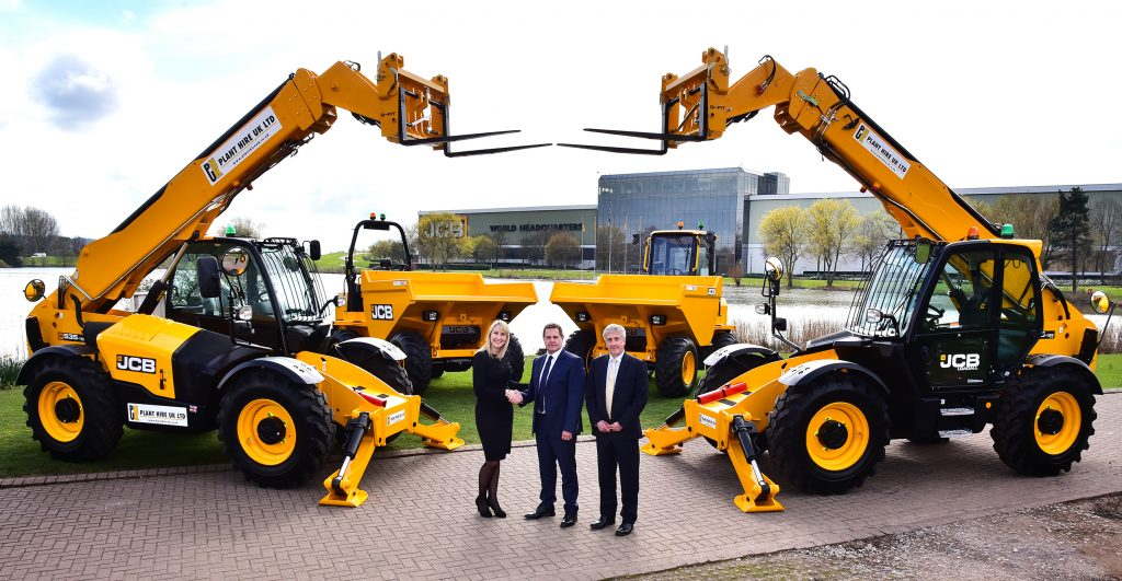 Plant Hire UK orders £17m JCB Loadall and Excavator Fleet