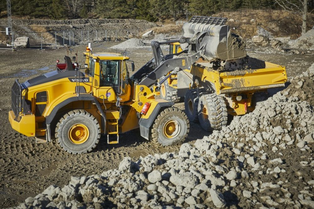 Volvo CE is currently testing the potential for 5G in powering a remote-controlled wheel loader.