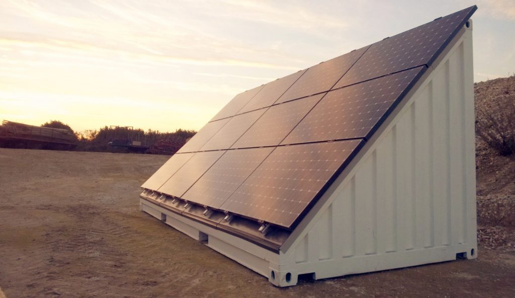 Prolectric acquires the Solatainer Solar Generator