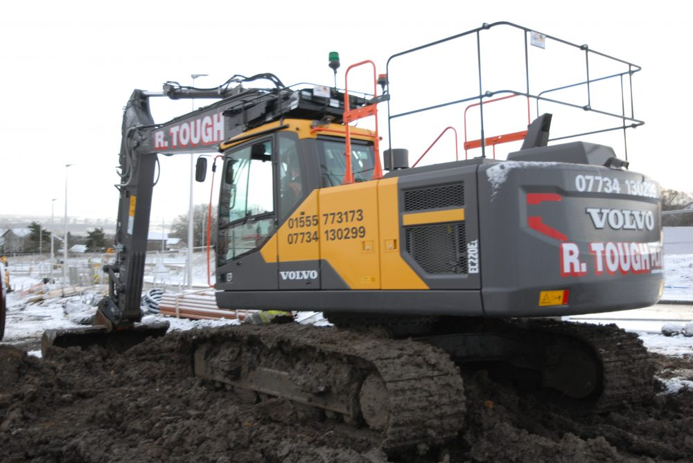R Tough Plant Hire sticking with Volvo Excavator