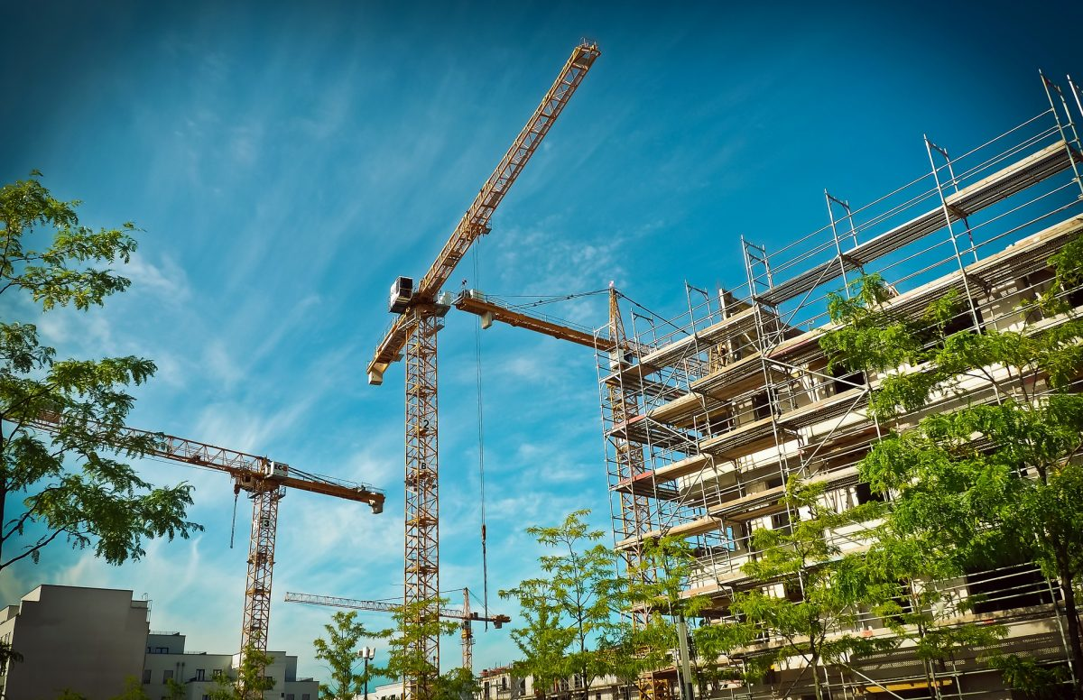 Which countries are investing the most in construction?