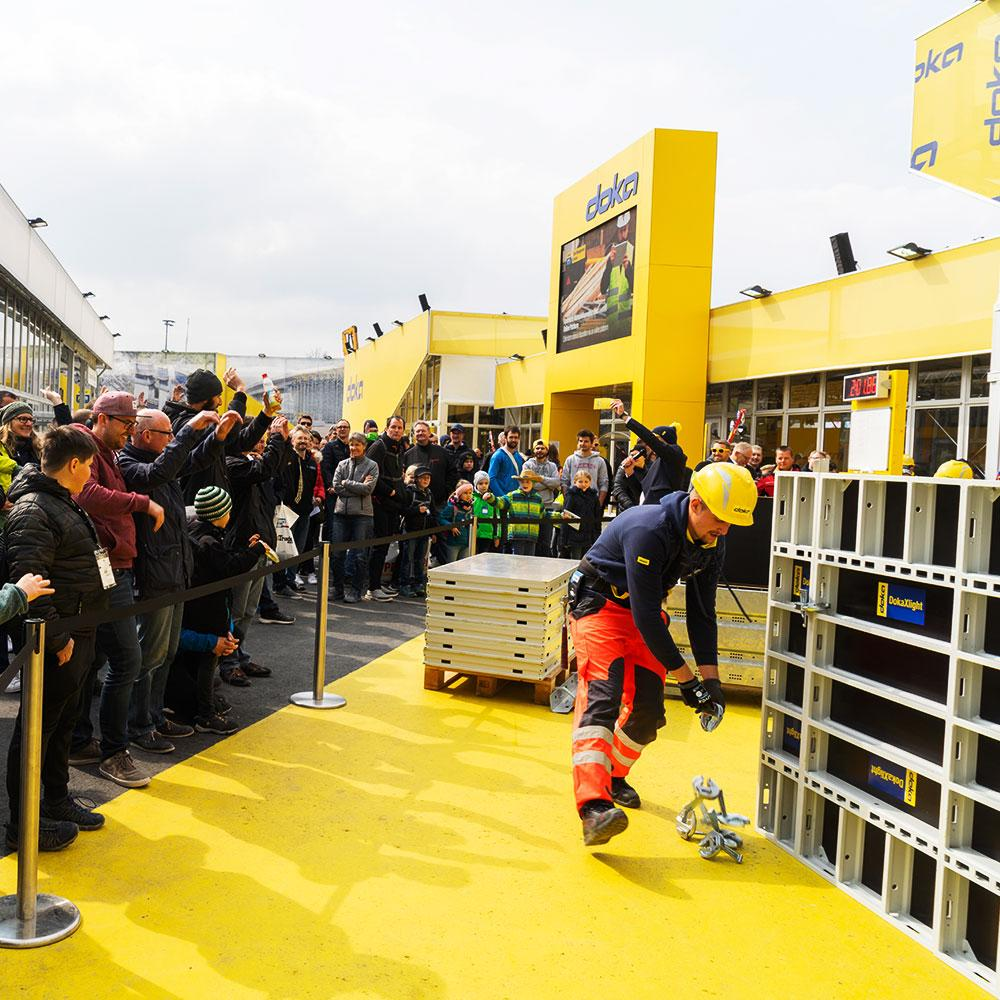 Doka Campus introduced the multi-faceted world of formwork to bauma 2019