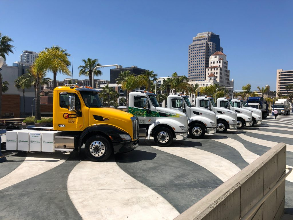 Peterbilt features Electric Trucks at ACT Expo in California