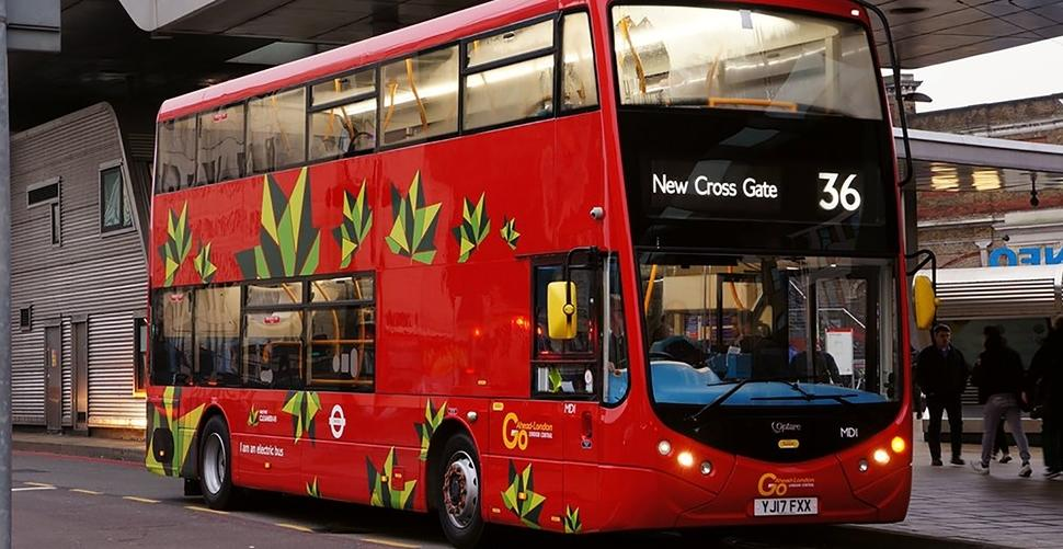 Transport for London looking forward to an all Electric City