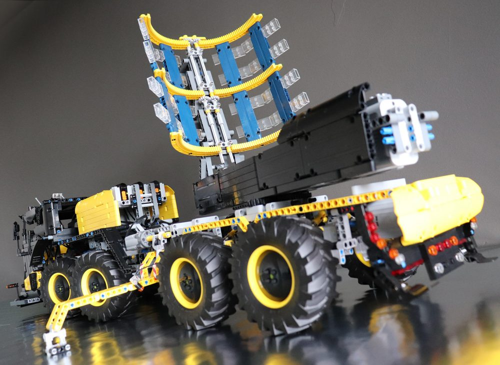Runner up prize-winning model Volvo ICARUS, by James Cox, is a mobile solar power plant with advanced off-road capabilities.