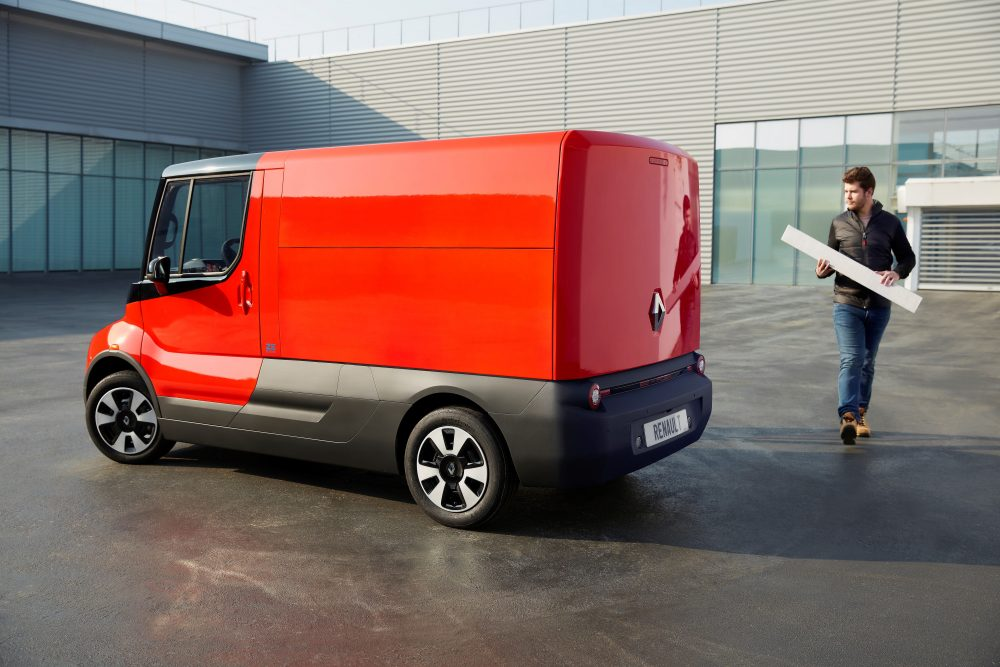Renault experiments with innovative delivery vehicle