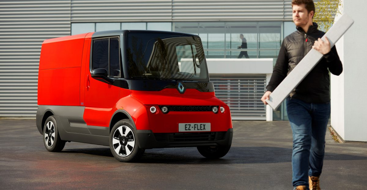 Renault experiments with innovative EZ-FLEX delivery vehicle