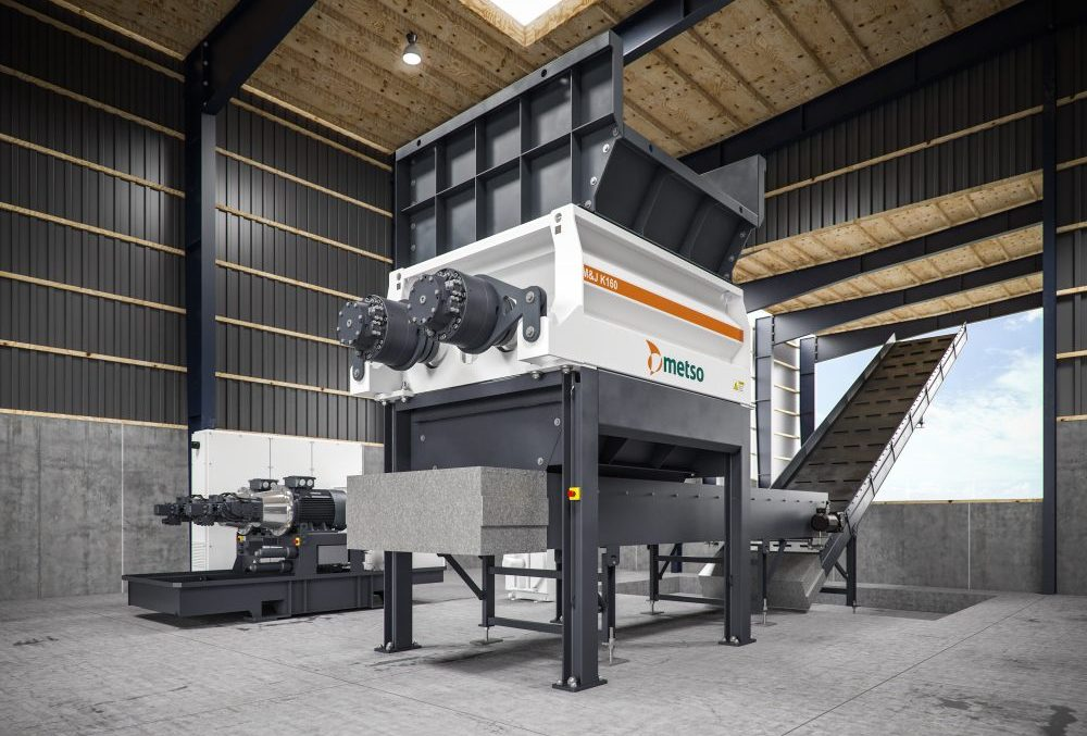 Metso expands M and J pre-shredder waste recycling range with two new models