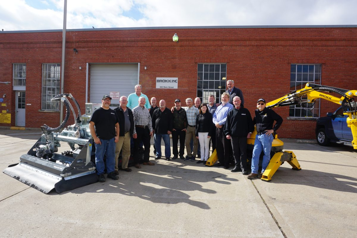 Brokk expands demolition machine business with new demo and Service Centre