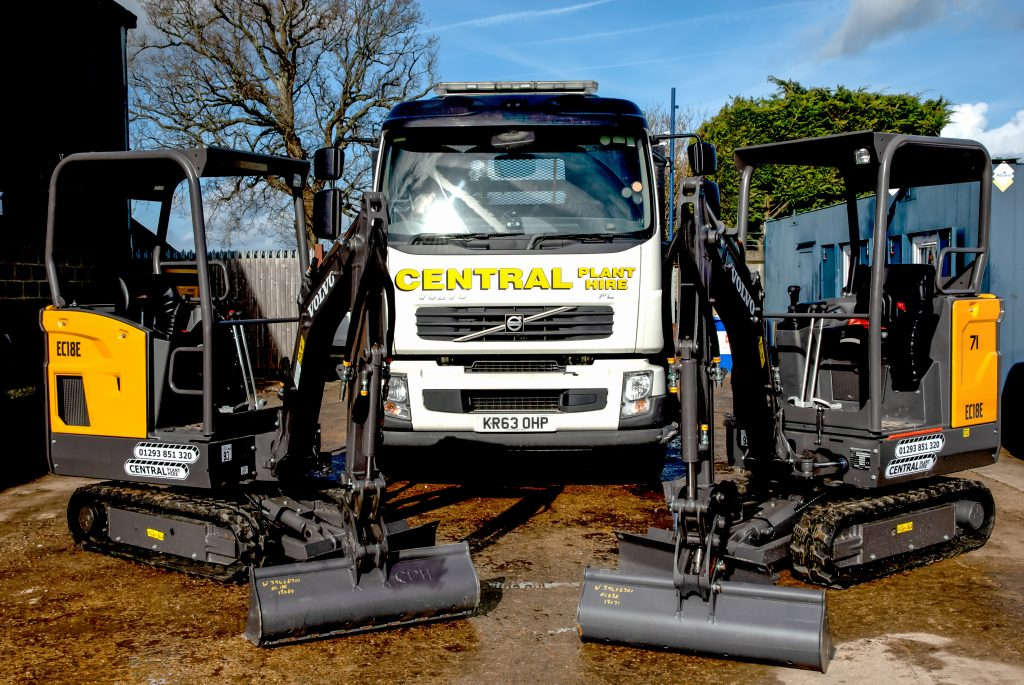 Excellent Volvo aftercare prompts Central Plant Hire in excavator choices