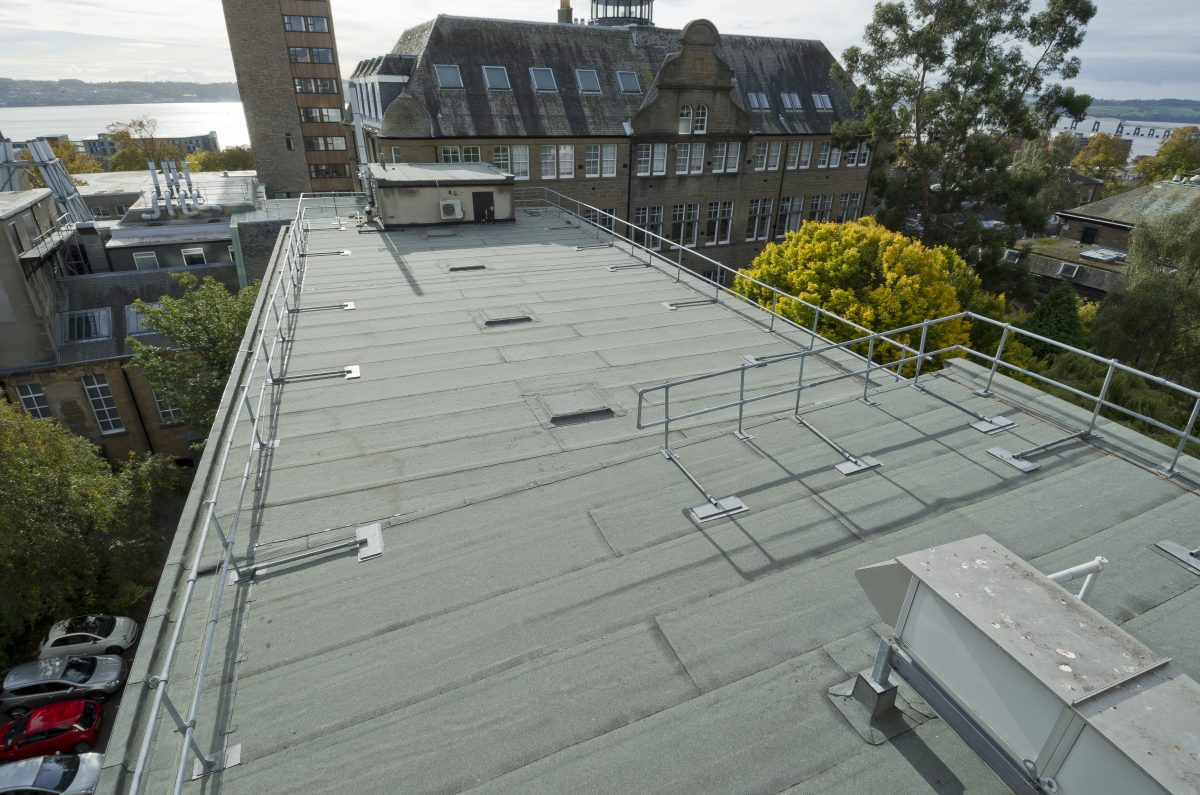 Dundee University goes green with an Alumasc CO² neutralising roof