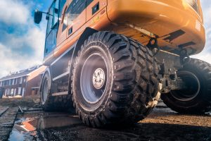 Nokian launches Ground Kare excavator and backhoe tyres for roads and railways