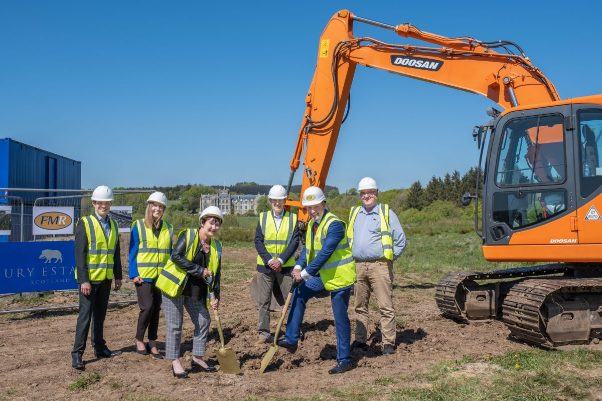 Construction begins on £12.5m village outside Stonehaven in Scotland