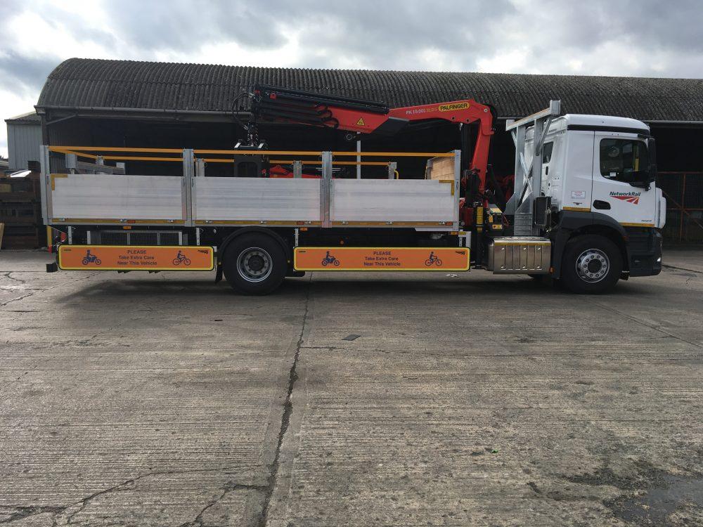 32t beavertail lorry