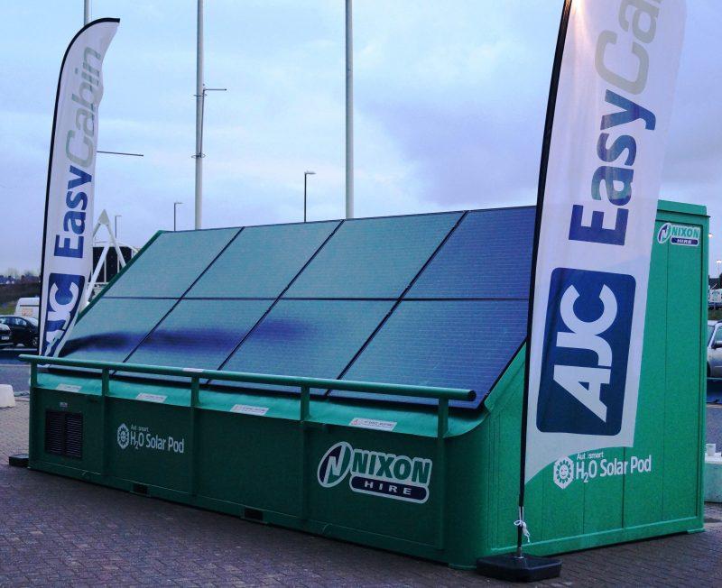 AJC H20 Solar Pod at Plantworx