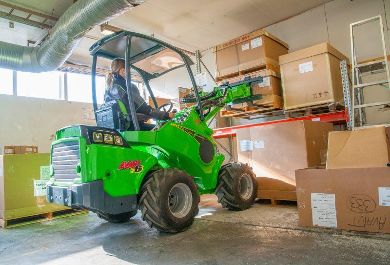 AVANT Forklift at Plantworx