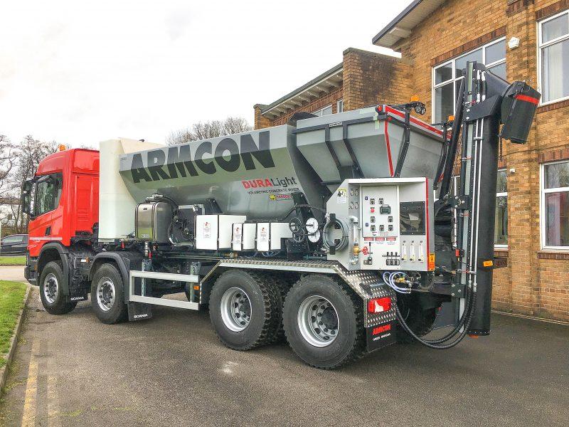 Armcon DURALight Concrete Mixer