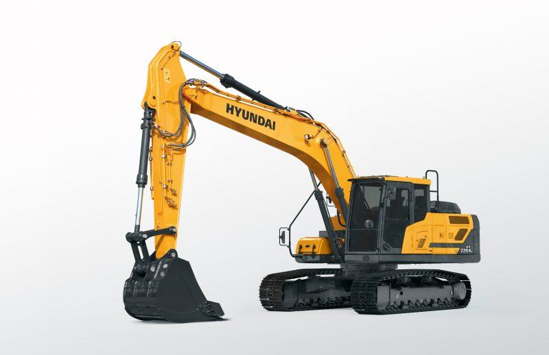 Hyundai HX220AL Excavator at Plantworx