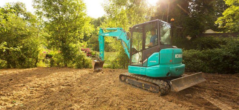 Molson Kobelco Excavator at Plantworx