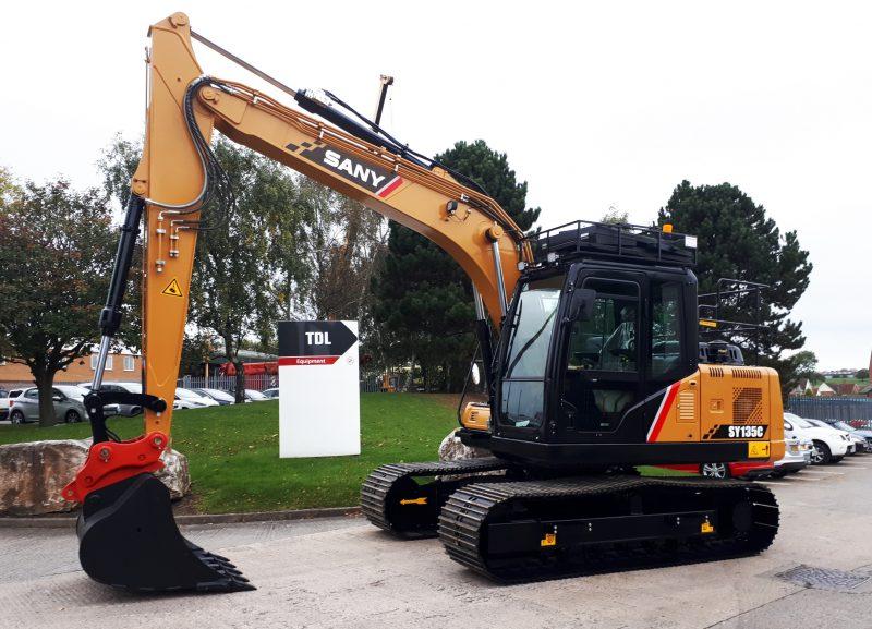 TDL Equipment Sany Excavator at Plantworx