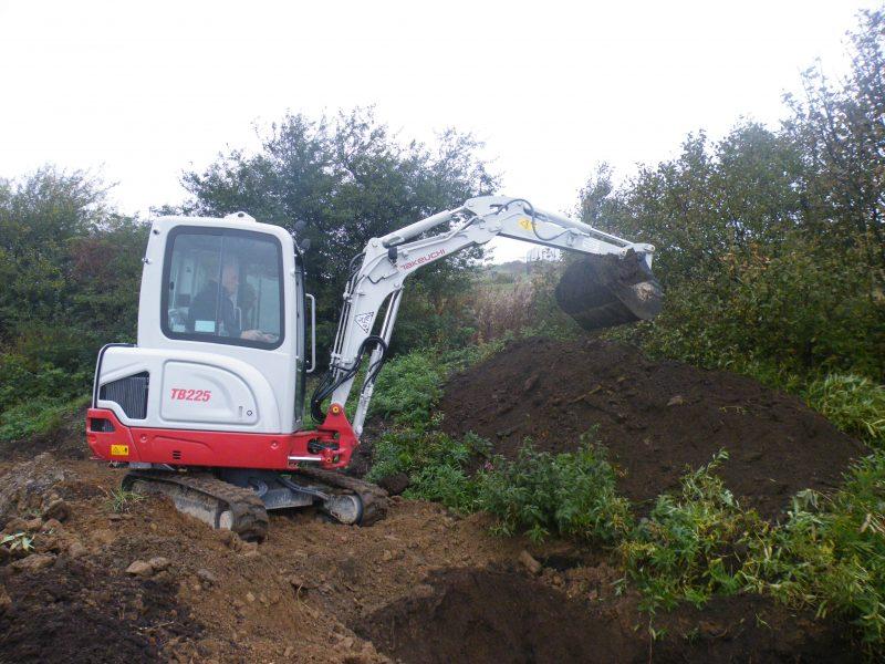 Takeuchi TB225 Mini Excavator at Plantworx