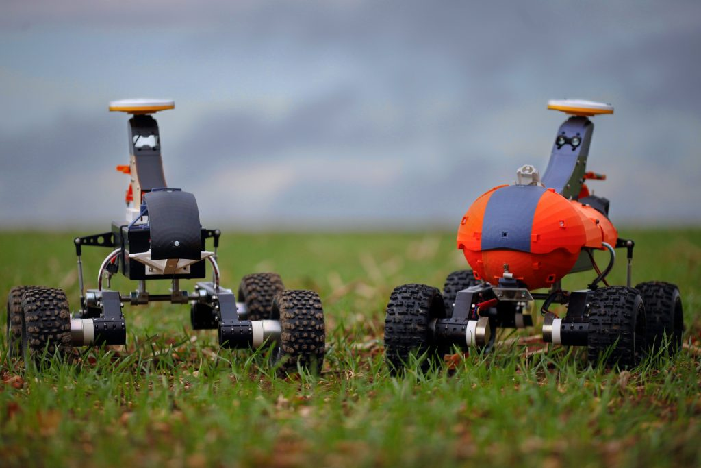 Small Robots showcase sustainable farming robots at 4IR Agritech event